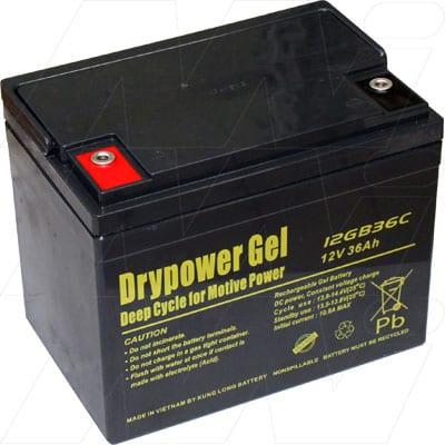 12V 12GB36C 12GB36C Battery