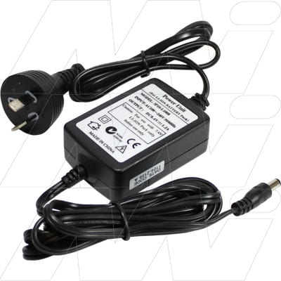 Lithium Ion & Lithium Ion Polymer Battery Charger 100-240VAC input 2 cell  with 25mm DC plug, Mst, 3P10-L1008-2.5mm