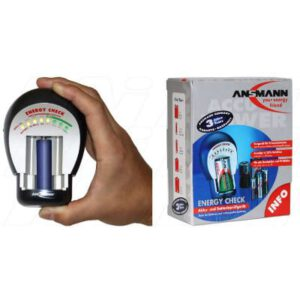 Ansmann 4000042 Energy Check for AAA, AA, C, D & 9V. Indicator in 25% steps. 3 year warranty, 4000042