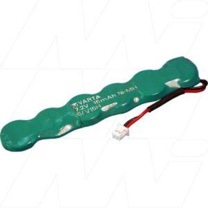 7.2V RBC 15mAh Button / Coin Battery Pack V15H/6-923CP Laptop Nickel Metal Hydride - NIMH, Varta