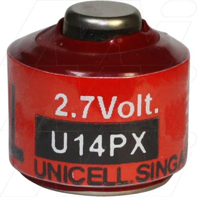 3V Alkaline Button Battery suitable for Cameras, Unicell, A14PX