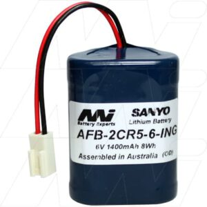 Lavatory Auto Flush Sensor Lavatory Battery 6V 1.4Ah Lithium Manganese Dioxide LiMnO2 AFB-2CR5-6-ING