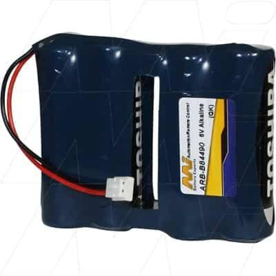 6V Saflok B54490 ARB-B84490 Battery