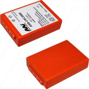 HBC crane remote control transmitters : HBC Eco Automation & Security Battery, 6V, 2.3Ah, Nickel Metal Hydride, ARB-BA225030
