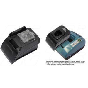 Power Tool Battery Adaptor Plate Makita 14.4V LiIon for ACMTE Power Tool Battery Charger, Mst, ATP1430