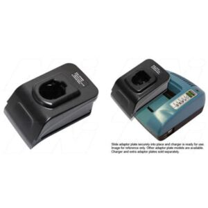 Power Tool Battery Adaptor Plate Black & Decker 7.2V - 18V & 9.6V - 18V NiCd / NiMH for ACMTE Power Tool Charger, Mst, ATP9096