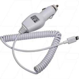 12-24V Car Charger for Apple iPod Nano 7, iPod Touch 5, iPhone 5, iPhone 6, iPhone 6 Plus, Enecharger, CC1224-IP5MFi-BP1
