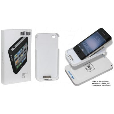 Apple iPhone 4, 4S Qi charging receiver jacket, Enecharger, CHCR-QIA4R