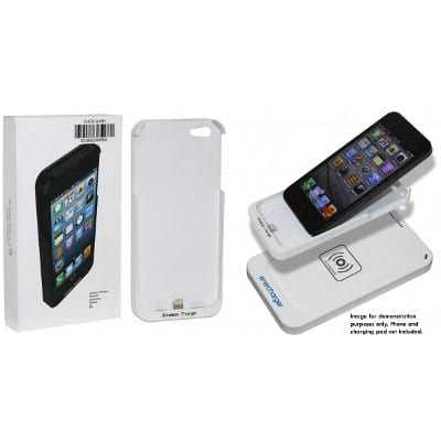 Apple iPhone 5, 5S Qi charging receiver jacket, Enecharger, CHCR-QIA5R