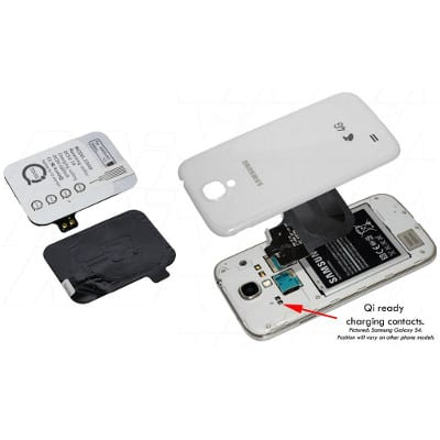 Samsung Galaxy S3 Qi charging receiver suitable for Samsung, Enecharger, CHCR-QISG3R