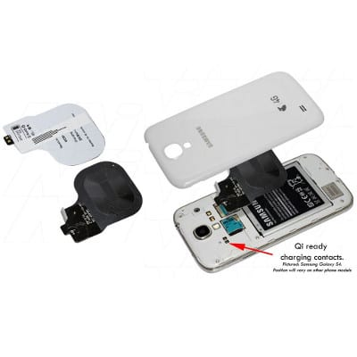 Samsung Galaxy S4 Qi charging receiver suitable for Enecharger, CHCR-QISG4R