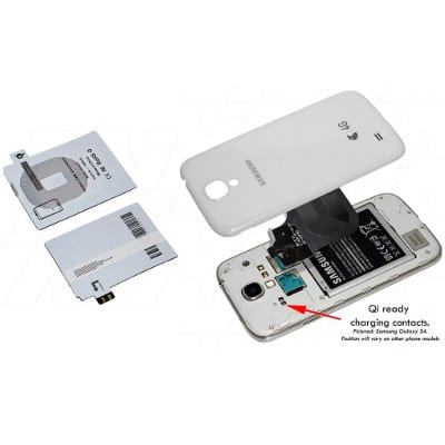 Samsung Galaxy Note 2 Qi charging receiver suitable for Enecharger, CHCR-QISGN2R
