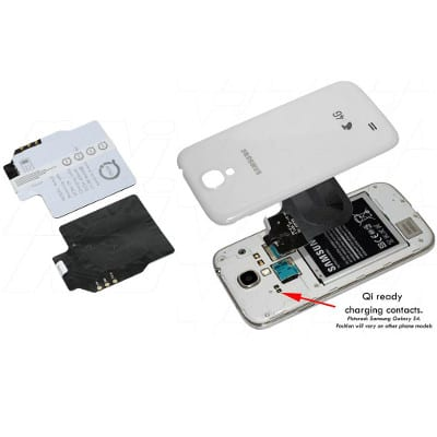 Samsung Galaxy Note 3 Qi charging receiver suitable for Enecharger, CHCR-QISGN3R