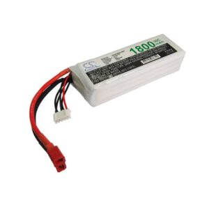 Airplane Remote Control Toy Batteries, 14.8V, 1800mAh, 4xLi-Polymer, LP1804C30RT