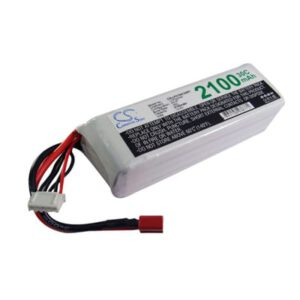 Airplane Remote Control Toy Batteries, 14.8V, 2100mAh, 4xLi-Polymer, LP2104C30RT