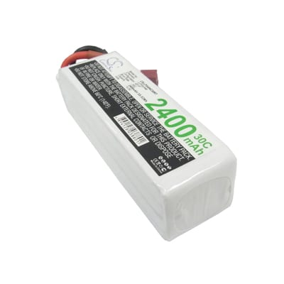 Airplane Remote Control Toy Batteries, 14.8V, 2400mAh, 4xLi-Polymer, LP2404C30RT