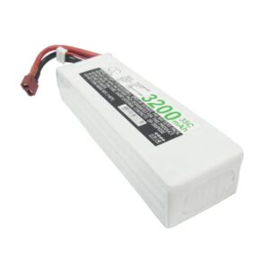 Airplane Remote Control Toy Batteries, 14.8V, 3200mAh, 4xLi-Polymer, LP3204C35RT