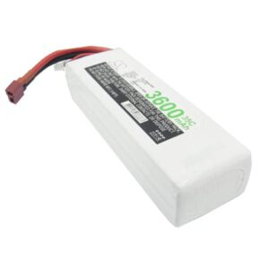 Airplane Remote Control Toy Batteries, 14.8V, 3600mAh, 4xLi-Polymer, LP3604C35RT