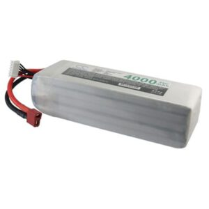 Airplane Remote Control Toy Batteries, 18.5V, 4000mAh, 5xLi-Polymer, LP4005C35RT