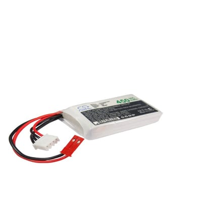 Airplane Remote Control Battery 11.1V 450mAh Li-Polymer LP4503C30RT