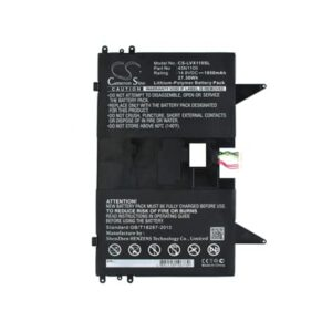 14.8V 1850mAh Lenovo X1 Helix PC LVX110SL Battery