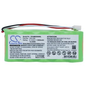 GE Magna-Mike 8500 Survey Battery, 3000mAh, Ni-MH Standard, MKE850SL