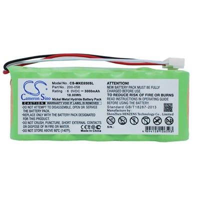 GE Magna-Mike 8500 Survey Battery, 3000mAh, Ni-MH Standard, MKE850SL