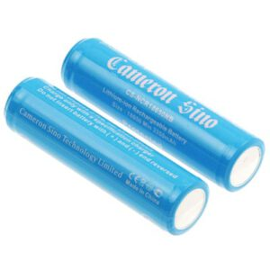 3.7V LiIon Battery suitable for Specialised Torch & Laser Sight Twin Pack, 3400mAh, CS, NCR18650NB