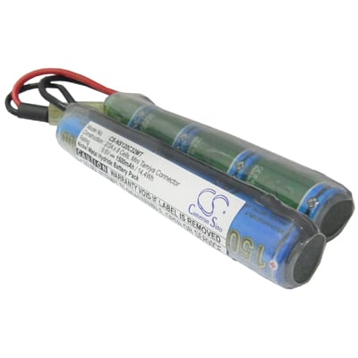 Airsoft Guns G36C Remote Control Toy Batteries, 9.6V, 1500mAh, 8x2/3A NiMH, NS120C32MT