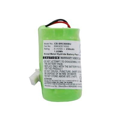 8.4V 230mAh Symbol VRC6900 SRC690BU Battery