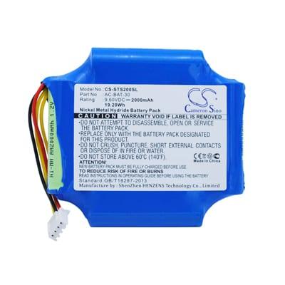 ShinewayTech S20A Survey Equipment Battery 9.6V 2000mAh Ni-MH STS200SL