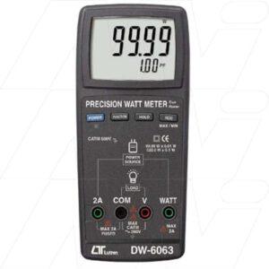 Lutron Electric Test Meters - Precision Watt Meter, DW6063