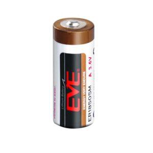 3.6V A 3.5Ah Lithium Thionyl Chloride Spiral ER18505M, EVE