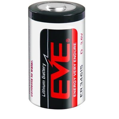 3.6V D 19Ah Lithium Thionyl Chloride ER34615, EVE