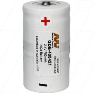 TIF8800 Gas Detection Battery, 2.4V, 700mAh, NiCd, GDB-405421