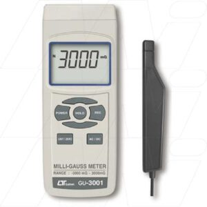Lutron Electronic Test Meters - Precision Milli Gauss Meter, GU3001