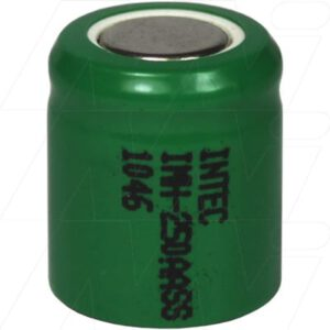 1.2V 1/3AA Nickel Metal Hydride - NIMH Industrial Cylindrical Cell, 250mAh, Intec, IMH-250AASS