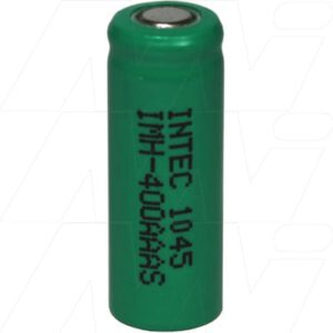 1.2V 2/3AAA Nickel Metal Hydride - NIMH Industrial Cylindrical Cell, 400mAh, Intec, IMH-400AAAS