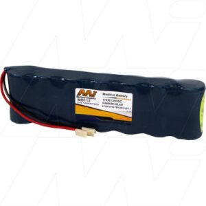 Atom V700 Medical Battery, 8.4V, 1300mAh, NiCd, Mst, MB112