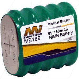 Bio-Hit Pipettes Medical Battery, 6V, 150mAh, NiMH, Mst, MB166