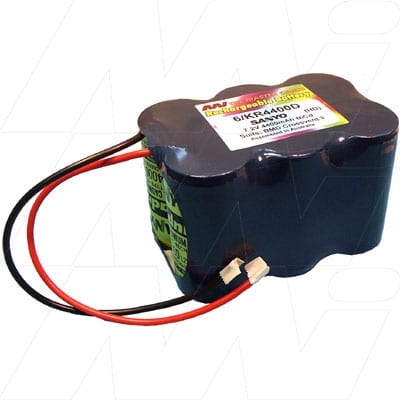BMD Crossvent 3 Ventilator Medical Battery, 7.2V, 4400mAh, NiCd, Mst, MB178