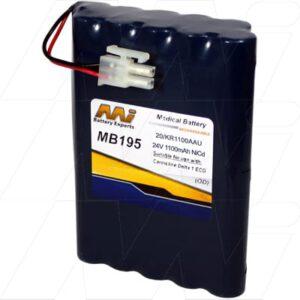 24V Cardioline Delta 1 ECG MB195 Battery