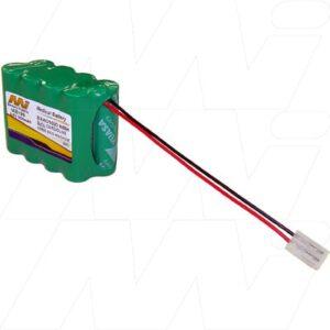 9.6V Cardioline AR600 ECG-EKG MB199 Battery