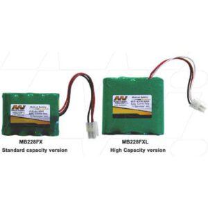 4.8V Cosmed Pony FX Spirometer. MB228FXL Battery
