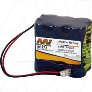 7.2V Datatrend Oxitest Plus 7 MB278 Battery
