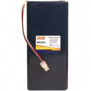 Datex AS3 Portable Monitor Medical Battery, 24V, 1400mAh, NiCd, Mst, MB282