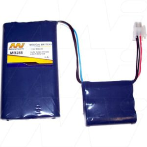 Datex Ohmeda Light Monitor. 11/KR1100AAU Medical Battery, 13.2V, 1100mAh, NiCd, Mst, MB285