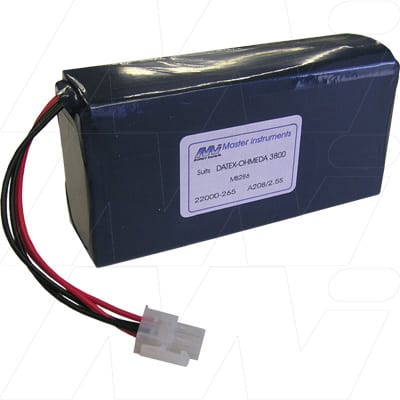 Datex Ohmeda Pulse Oximeter 3800 Medical Battery, 8V, 2500mAh, SLA, Mst, MB286
