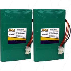 Datex S/5 Patient Monitor Medical Battery, 2x12V, 4000mAh, NiMH, Mst, MB287