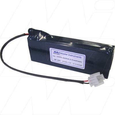 Datex 5000 Inovent Medical Battery, 12V, 2200mAh, SLA, Mst, MB289